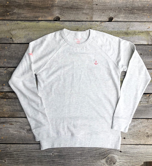 Oatmeal Heather Signature Anchor Pullover