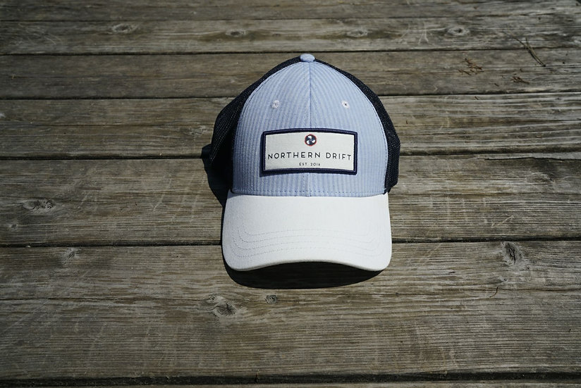 Classic Seersucker Trucker Hat