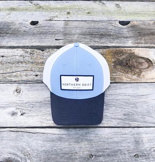 Classic Trucker Hat - Carolina/Navy