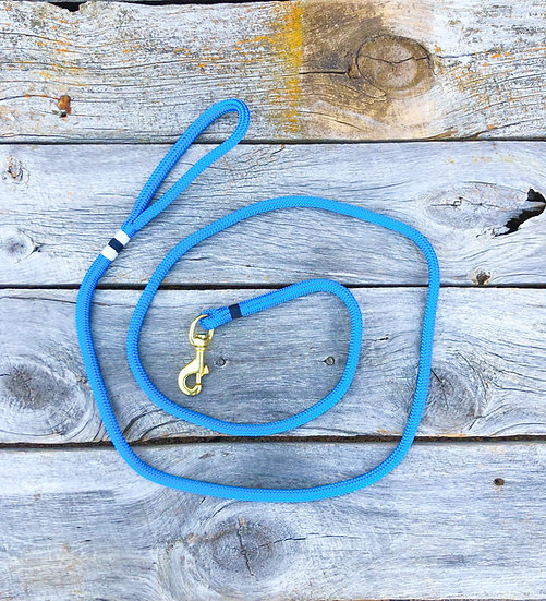 Pacific Blue/Navy Dog Leash