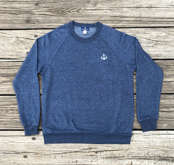 Navy Northern Anchor Pullover