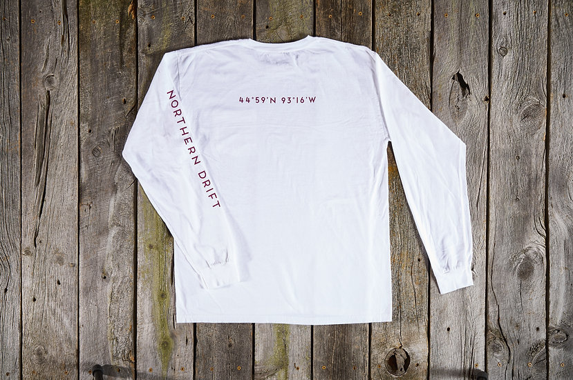White Launch Point Tee