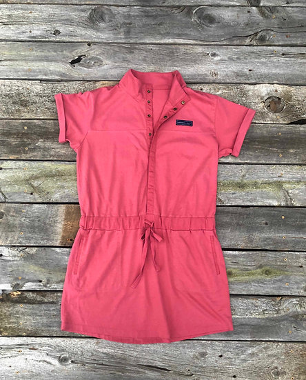 On-the-Go Dress - Nantucket Red