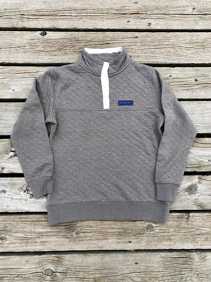 Women's Sand Quilted Quarter Zip