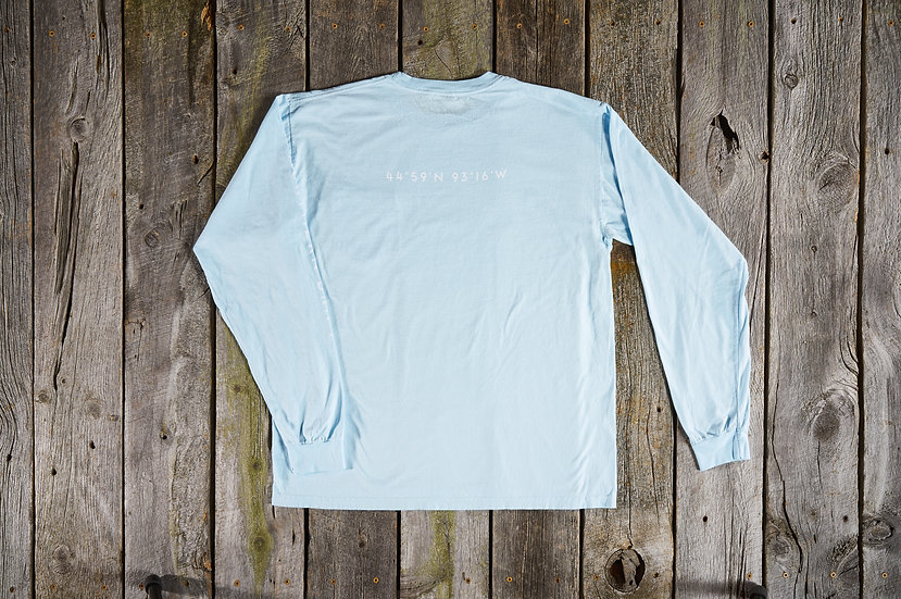 Chambray Launch Point Tee