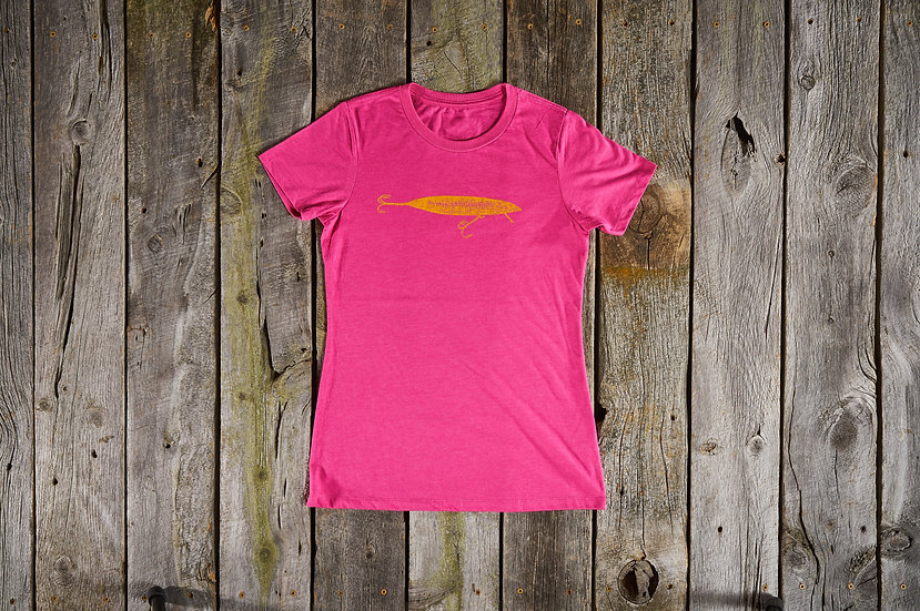Women's Raspberry Lure Tee
