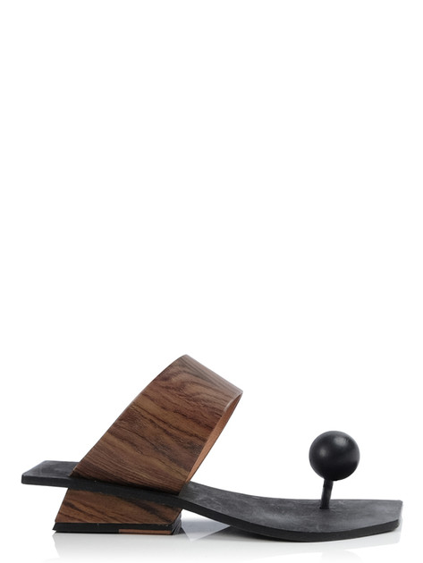 MAYBALL WOODEN BROWN