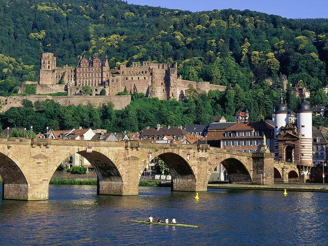 water-reflection-Tourism-Germany-bridge-
