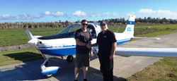 First solo for Mitch