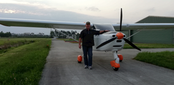 Francois, first solo in CDL