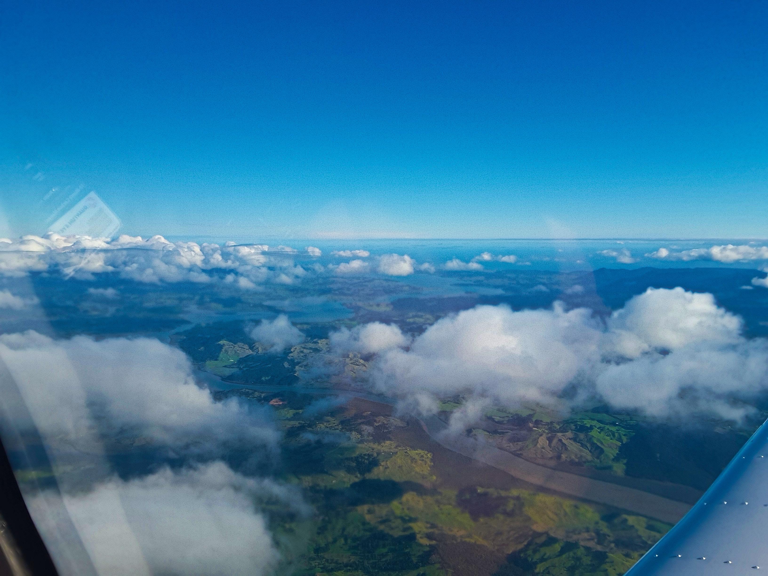 Hokianga Harbour from 6500ft