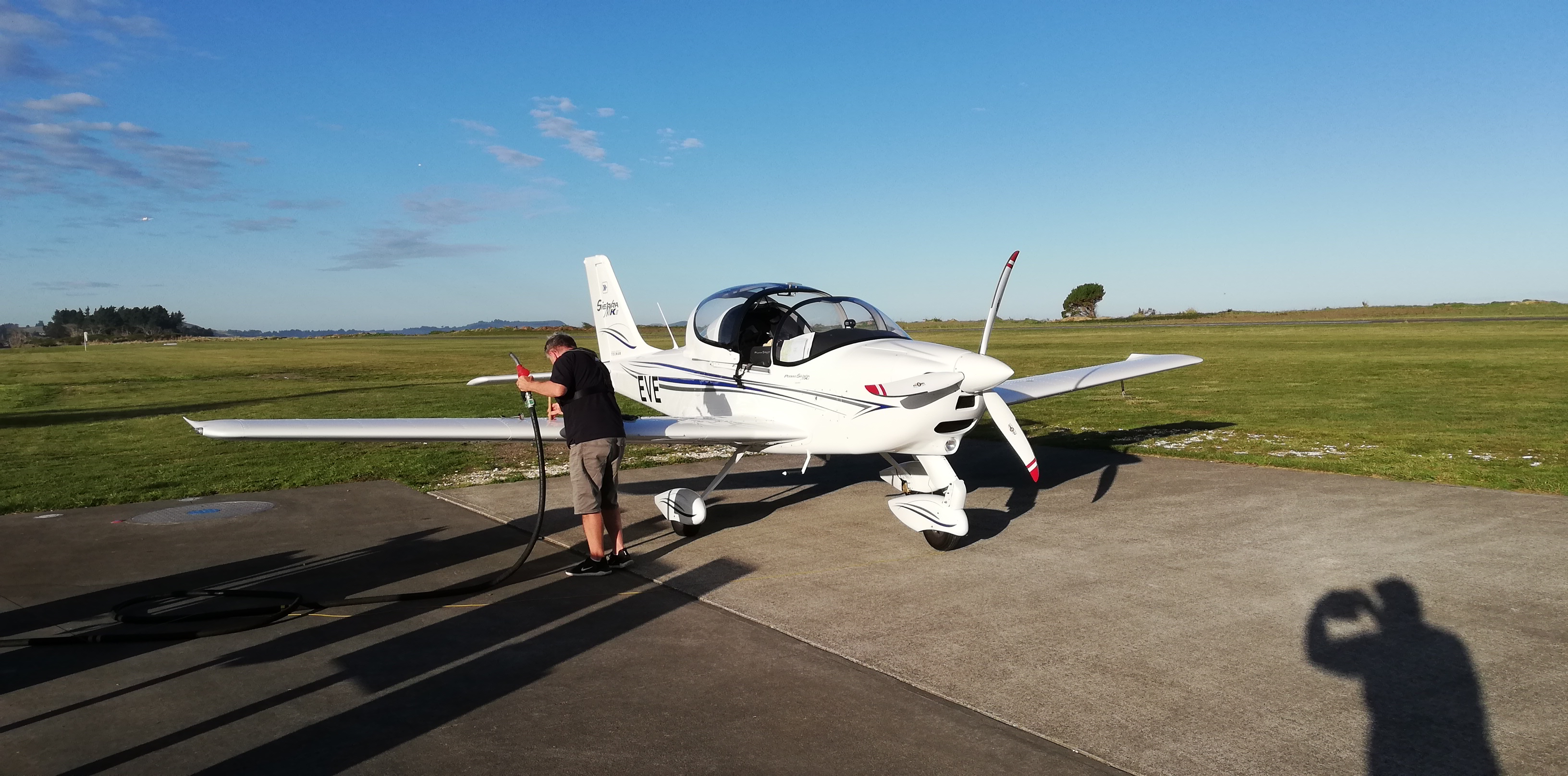 Refuelling at Kaikoura