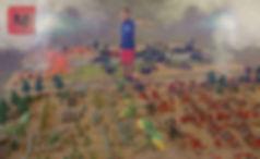 Diorama hecho con figuras de playmobil titulado Las Guerras del Dragón y Playmobil Wars Equipo Swat realizado para la Exposición Playmobil de Barcarrota 2019 de temática caballeros, dragones, top agents, policías y flamiacs, actividades infantiles culturales apra eventos ferias museos colegios ayuntamientos BIG PLAY