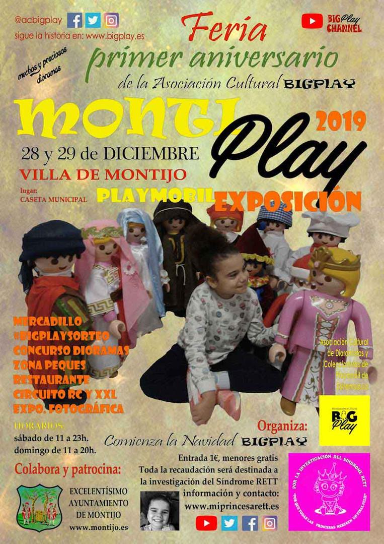 MONTIPLAY 2019 EXPOSICIÓN PLAYMOBIL
