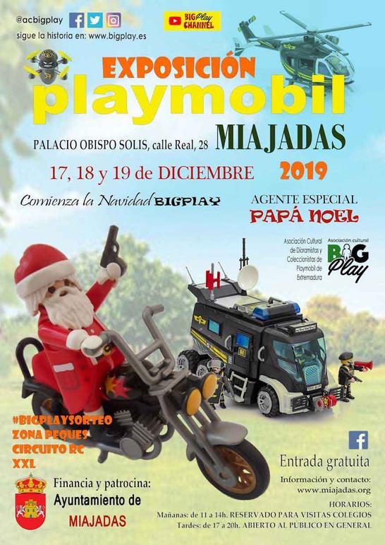 MIAJADAS 2019 EXPOSICIÓN PLAYMOBIL