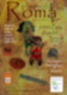 Cartel Primera Feria Playmobil Baños de Montemayor 2018 Playmobil ROMA realizada por la Asociación Cultural BIGPlay Playmobil Extremadura. La batalla de Alesia, el cruce del río Rubicón y más escenas sobre la vida de Julio César, representadas en un diorama de mas de 30 m2, una exposición espectaculr. Un evento inolvidable.