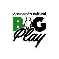 Logo Blanco BIGPlay Playmobil Extremadura. BIG PLAY.