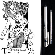 INKTOBER 2019 - 21 - treasure.JPG