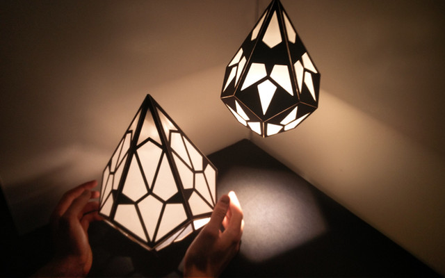 crystal lamps