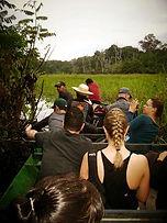 Jaguar Amazon Tours Manaus Brazil Adventure Tour Tourists Boat