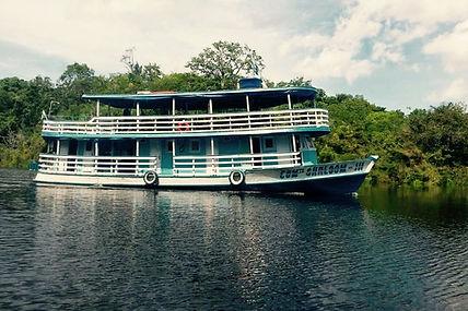 Jaguar Amazon Tours Manaus Brazil River Cruise Barco Shaloom