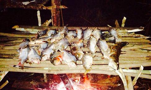 Jaguar Amazon Tours Manaus Brazil Jungle Survival Tour Roasting Fish