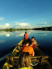 Jaguar Amazon Tours Manaus Brazil Adventure Tour Tourists at Ipanema Lake