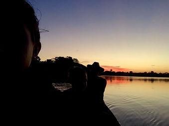 Jaguar Amazon Tours Manaus Brazil Adventure Tour Tourists & Sunset