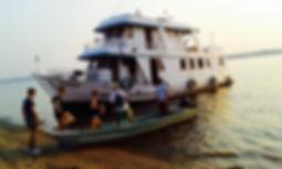 Jaguar Amazon Tours Manaus Brazil River Cruise Barco Camiba