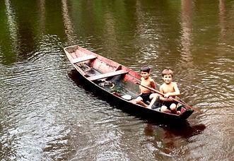 Jaguar Amazon Tours Manaus Brazil Adventure Tour Children Spear-fishing