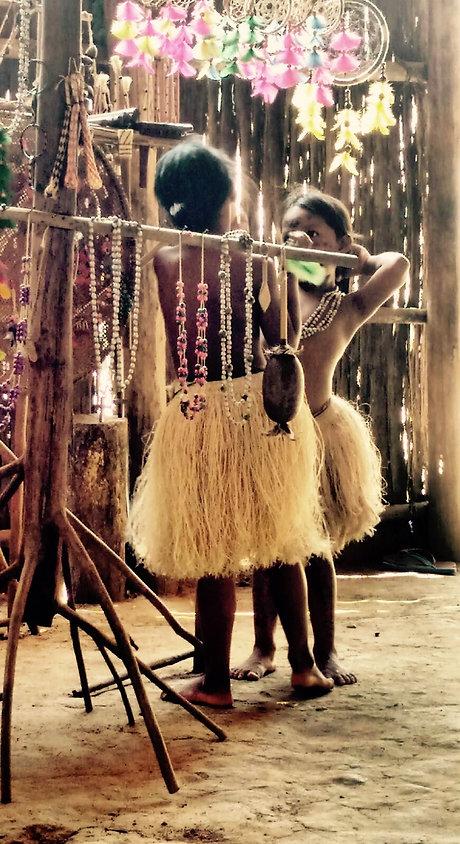 Jaguar Amazon Tours Manaus Brazil Day Trip Native Indian Tribe Children