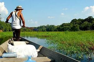 Jaguar Amazon Tours Manaus Brazil Adventure Tour Looking for a Campsite
