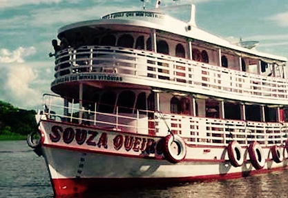 Jaguar Amazon Tours Manaus Brazil River Cruise Barco Souza Queiroz