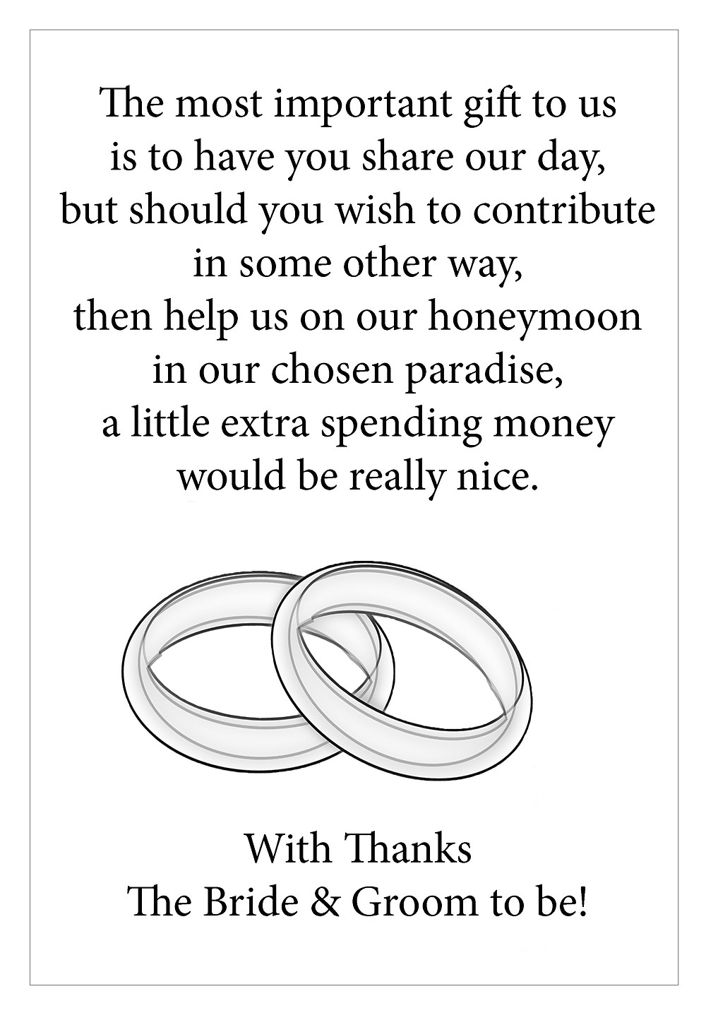 money giving poem for wedding day, lowestoft wedding hire, norfolk bride, suffolk bride,