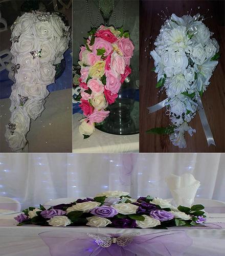 Wedding Flowers Suffolk: Bouquets & Button Holes Lowestoft Wedding