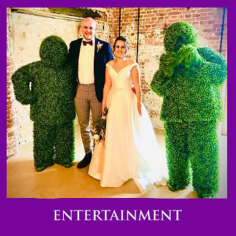LOWESTOFT WEDDING HIRE THE HEDGE MEN WEDDING DAY