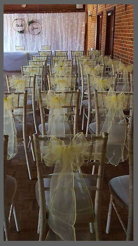 lowestoft wedding hire, park hill hotel, suffolk barn wedding, norfolk barn wedding, lemon wedding styling, yellow wedding design, charavi chairs, starlight back drop, bride and groom, perfect day. suffolk bride, norfolk bride