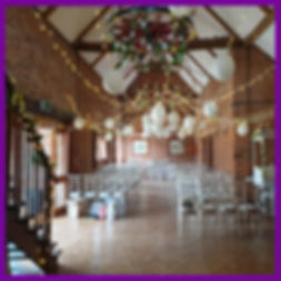 lowestoft wedding hire fairy lights hanging lanterns candy cart love letters barn wedding park hill hotel norfolk suffolk wheel lights staircase roses hanging vines white wedding