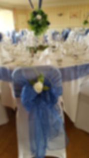 hotel victoria lowestoft wedding hire chair sashes chair hoods white roses light up wedding centre pieces themed wedding golf clubs navy wedding table runners table skirts wine glasses tabledisplay suffolk norfolk centre pieces wedding decorations perfect day