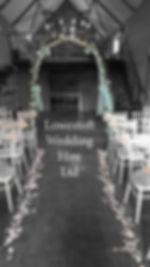 lowestoft wedding hire, venue dressing, party decorations, wedding hire, suffolk weddings, norfolk weddings, park hill hotel, wedding arch, peach wedding, mint wedding, green wedding, petal confetti, barn wedding, stair case wedding, white chairs,