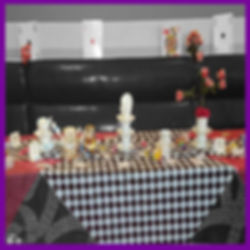 LOWESTOFT WEDDING HIRE WEDDING GOALS GORLESTON SOCIAL CLUB ALICE IN WONDERLAND WEDDING CARDS CARD GAME LUCKY RABBIT MAD HATTERS TEAPARTY CRAZT PARTY THEMED WEDDING CHECKES TEA CUPS RED ROSES PAINTED ROSES SWEETS