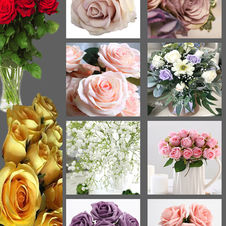 FRESH OR FAUX, FLOWERS YOUR WAY!