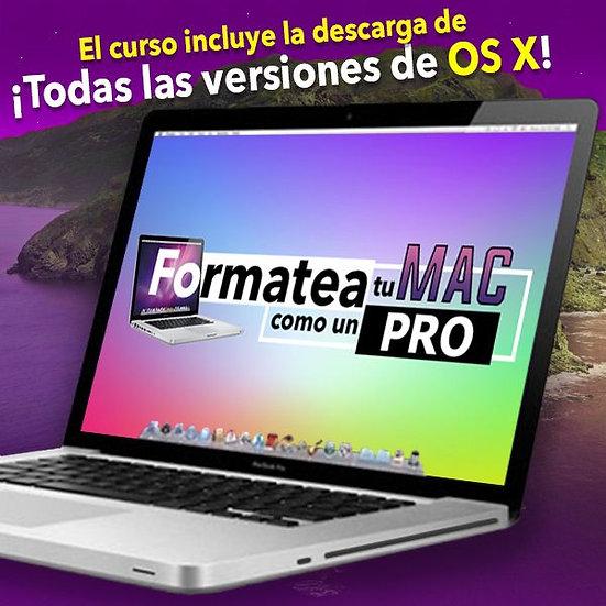 Formatea tu Mac como un PRO