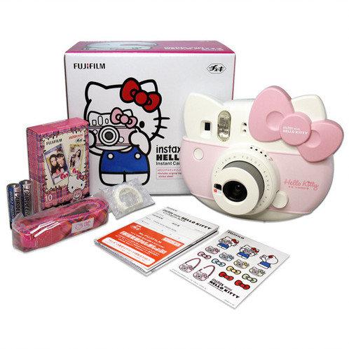 Camara Instantanea Fuji Instax Mini Hello Kitty + 10 Fotos