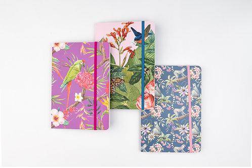 Notitzbücher Cedon floral, A5