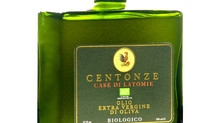 "Centonze extra virgin olive oil, featuring ""Capri"" bottle design, elegant gift idea"