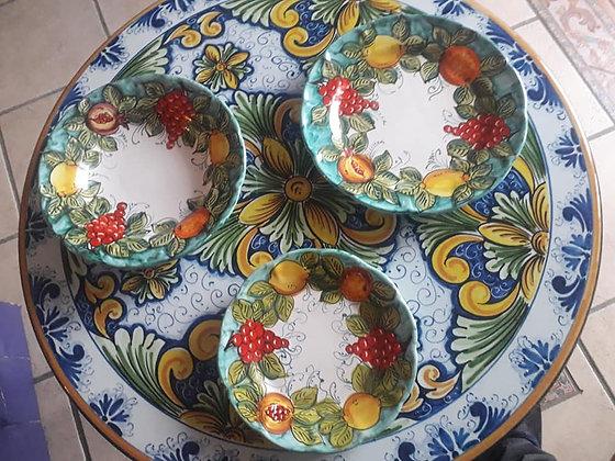 Plate - fruit