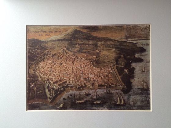 Catania, before eruption - 1669