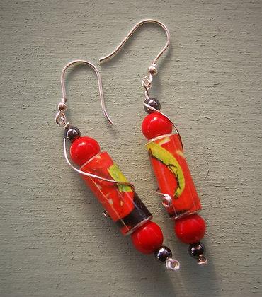 Earrings, Ballaro' Market (MBO1)