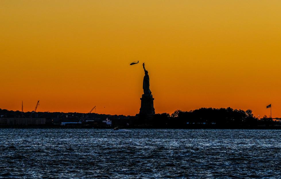 Blackhawk over Liberty